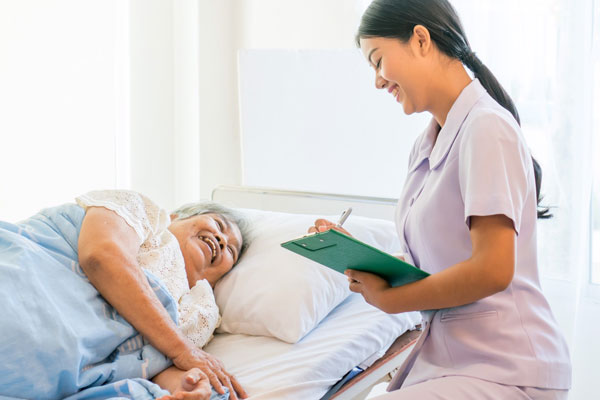 ศูนย์ดูแลและประคับประคองผู้สูงอายุ