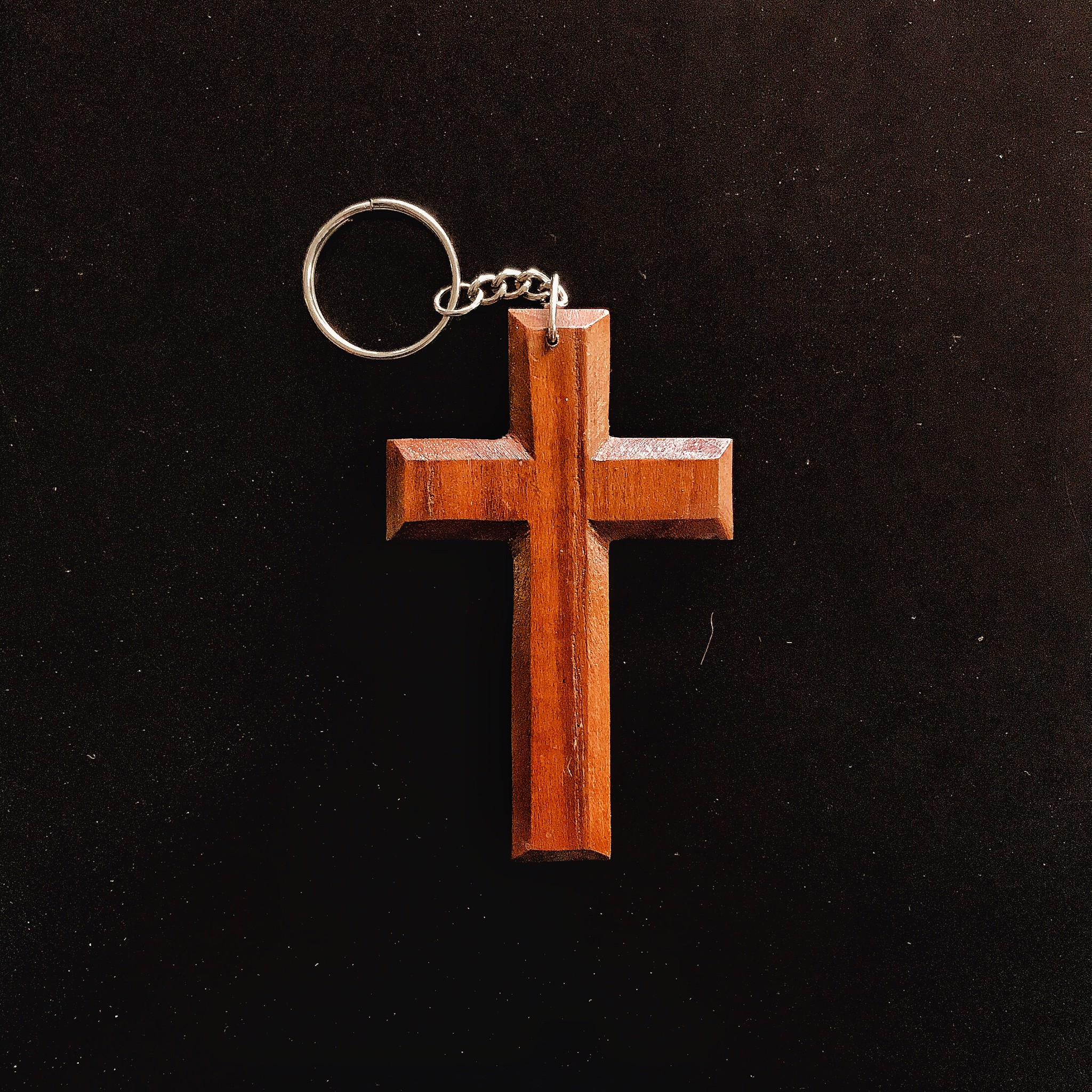 พวงกุญแจไม้กางเขน(แบบที่1)